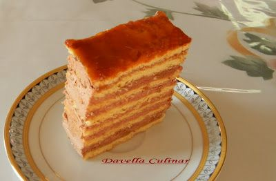 *DAVELLA CULINAR*: Gâteau DOBOS / Prajitura DOBOS (postare reluata cu reteta)