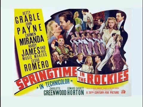 Springtime in the Rockies (en Hispanoamérica, Secretaria brasileña) es una película estadounidense de 1942, dirigida por Irving Cummings ...