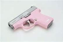 Going to do something like this with my glock but leave the slide black and maybe make the bottom either pink or Tiffany blue.