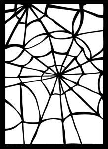 View Design: spider web lace background