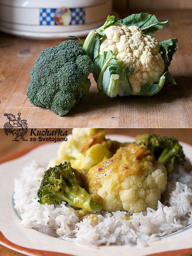 U tohohle receptu doporučuju nic nevynechávat, nic nepřidávat, nic neměnit. Je dokonalý tak, jak je. Jeden menší květák a jednu brokolici op...