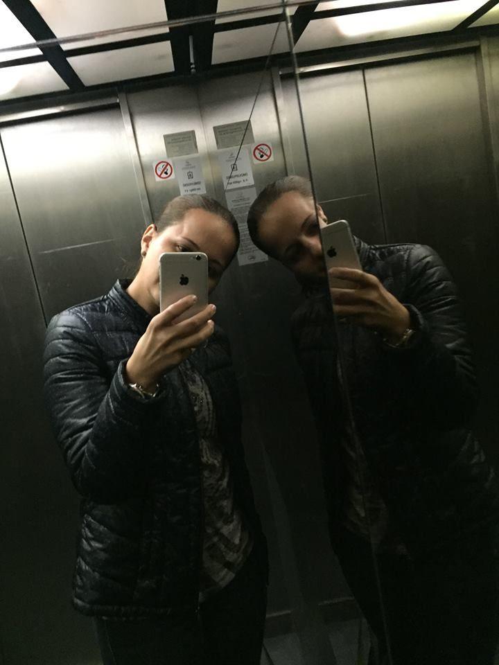 Roxana #ZenitBudapest Elevator Selfie Challenge!