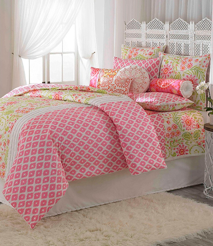 "Dena Home ""Ikat Blossom"" Bedding Collection"