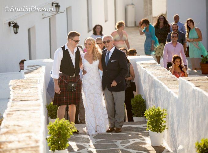 Ένας rustic γάμος στη Σίφνο by Elite Events Santorini & Studio Phosart   The Wedding Tales Blog
