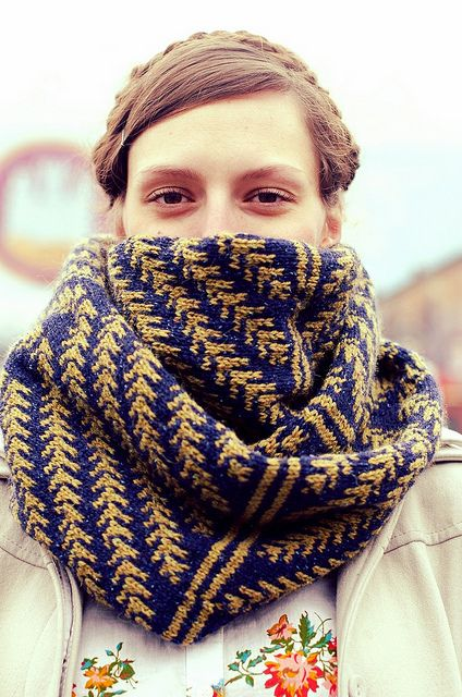 A neat looking cowl found on Ravelry
