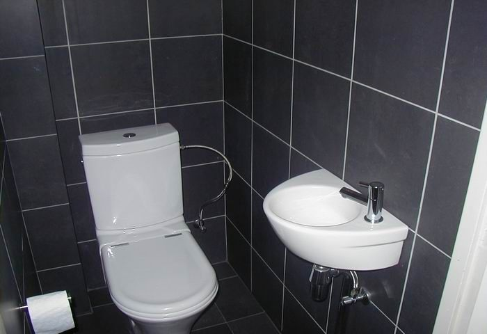 Top 28 ideas for decorating a small downstairs toilet for Small wc design ideas