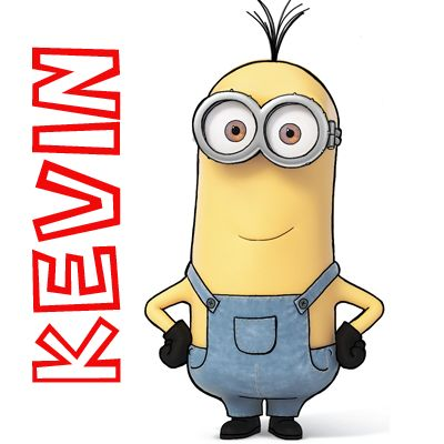 How to Draw Kevin from The Minions Movie 2015 in Simple Step by Step Drawing Tutorial