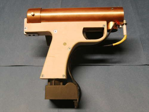 DIY handheld flamethrower