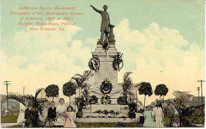 jefferson davis monument richmond virginia
