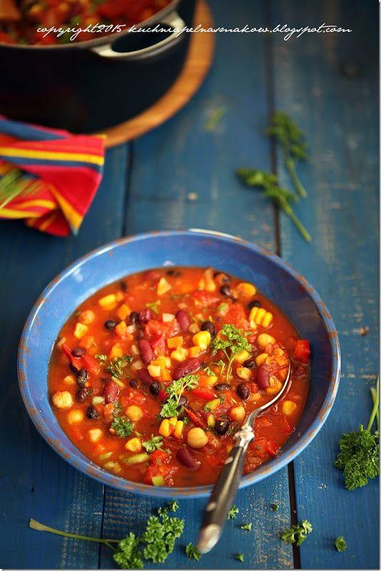 wegańskie chilli wg Scotta Jurka