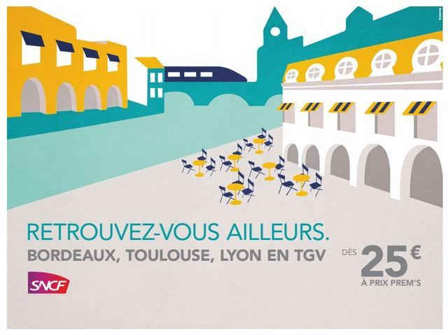 La SNCF: back to the 50's - MARQUE - l'ADN