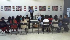 Imparten charla sobre la historia de Oaxaca de Juárez