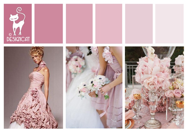 17 beste afbeeldingen over wedding pink dusky pink for Dusky pink wedding dress