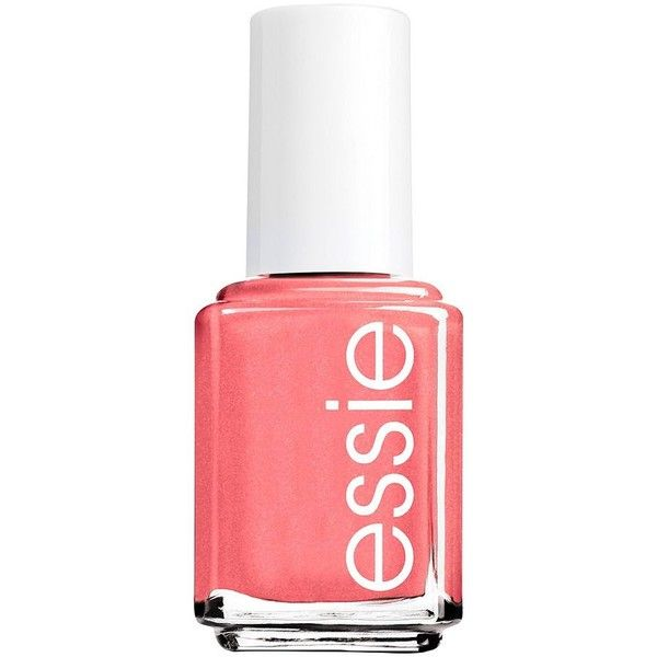 essie Nail Polish ($8.50) ❤ liked on Polyvore featuring beauty products, nail care, nail polish, nails, beauty, makeup, essie, orange, essie nail color and essie nail polish