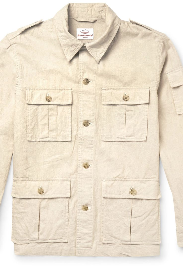 Mr Porter - Correspondent Linen and Cotton-Blend Field Jacket