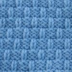 6-inch knitted block patterns