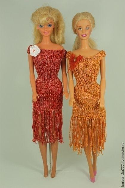 Подходящий наряд для вечеринки. Элегантные платья из пряжи с золотым отливом…
