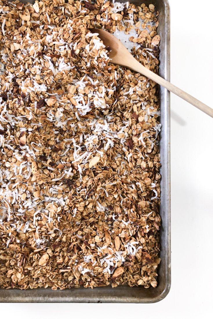 Homemade Granola #granola #healthy #breakfast