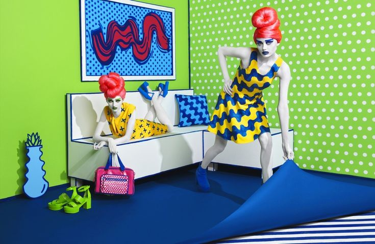 Colourful Campaign for Aizone, Lebanese Deparment Store