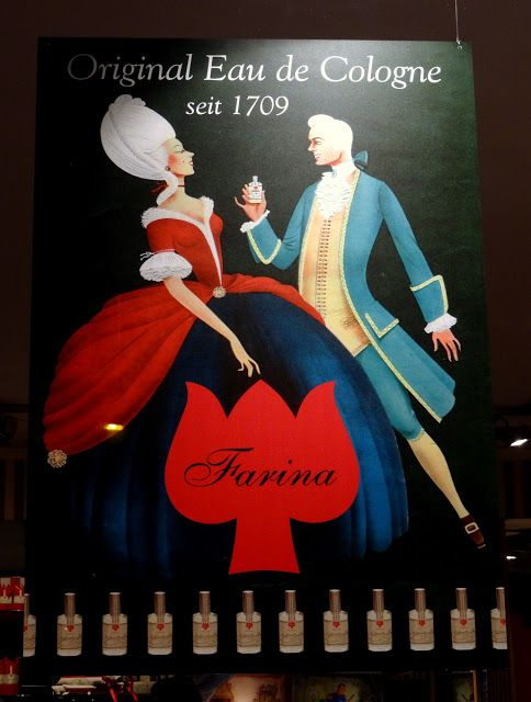 Farina Eau de Cologne shop and museum in Cologne, Germany