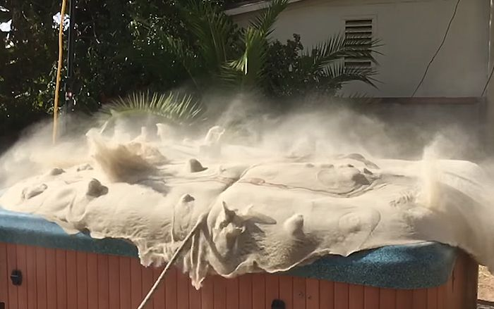 Ex NASA Engineer Makes Everyone Freak Out When He Turns Sand Into 'Liquid Soup', And Here's How He Did It   Bored Panda