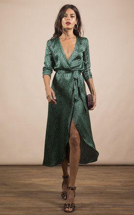 9a7108fea33 Yondal Dress In Small Green Leopard Print By Dancing Leopard in 2019 ...