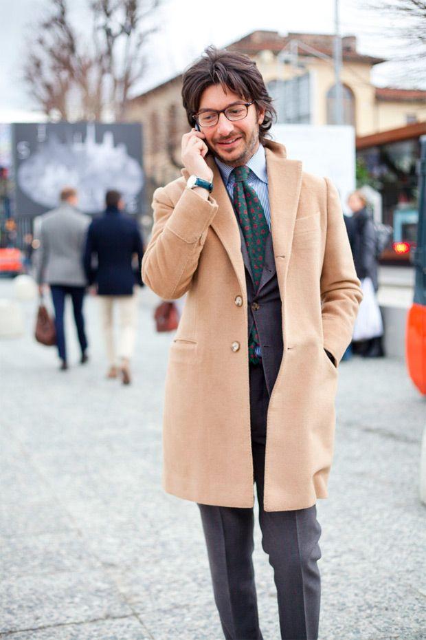 Camel Coats Men Style Mens Fashion Fashion Gq Fashion