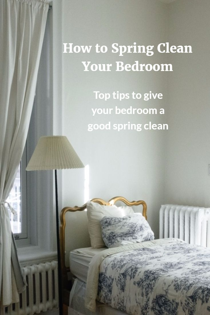 Tips for cleaning bedroom