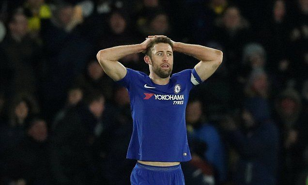 Gary Cahill labels Chelsea's loss to Watford as 'abysmal'
