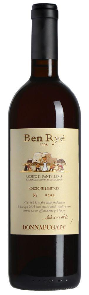 Ben Ryé EDIZIONE LIMITATA Donnafugata Passito di Pantelleria cl 75 DOC 2008