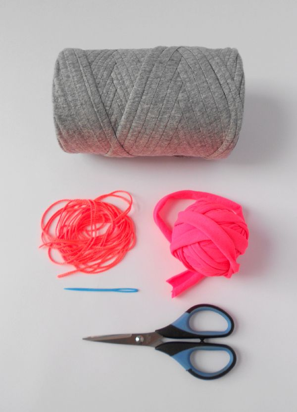 the red thread :: Neon Coil Bowls materials
