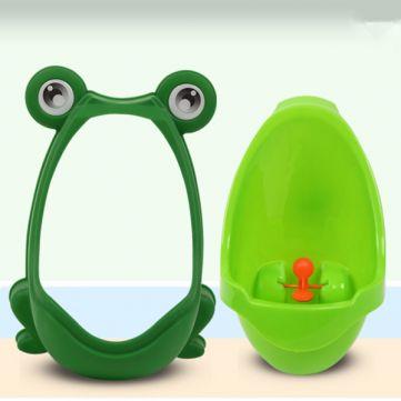 Adorável Sapo Kids Crianças Potty Toilet removível treinamento caçoa Urinal Early Learning Meninos Pee instrutor Bathroom at Banggood
