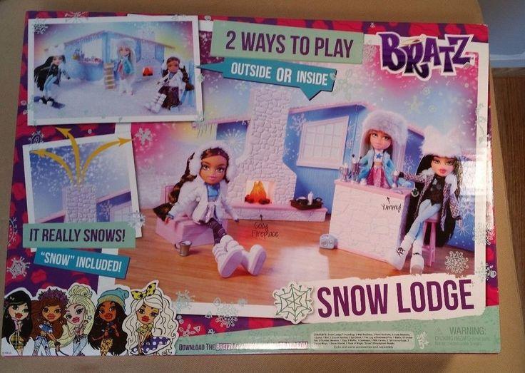 Playset Bratz SnowKissed Winter Lodge NEW Top Christmas Gift 2015 #Bratz #HousesFurniture