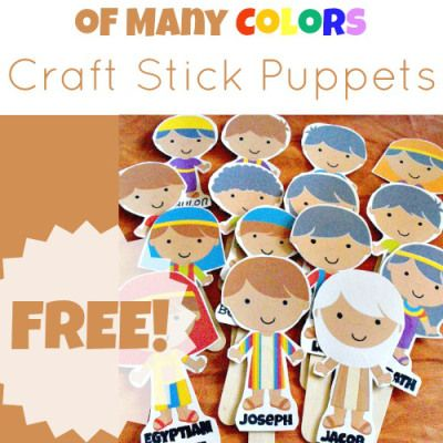 296 Best Kids Joseph S Life Images On Pinterest Sunday School Joseph Coat Of Many Colors Activity