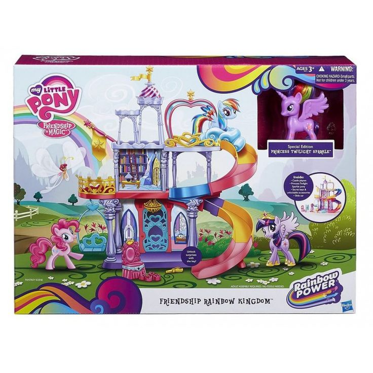MY LITTLE PONY TWILIGHT SPARKLE'S REGENBOOGKASTEEL