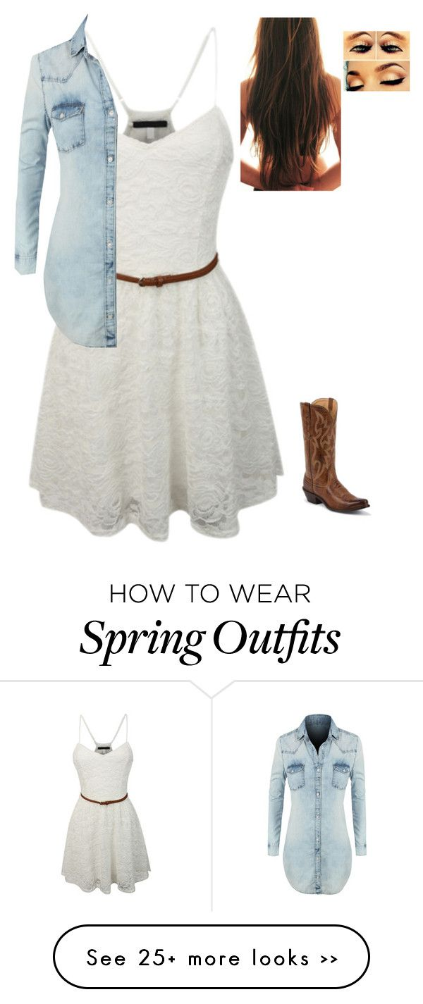 """""""Cowgirl outfit"""" by quata on Polyvore"""