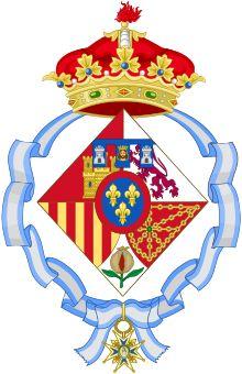Coat of arms of Infanta Margarita of Spain, Duchess of Soria