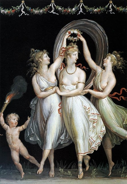 The Three Graces AntonioCanova, 1799