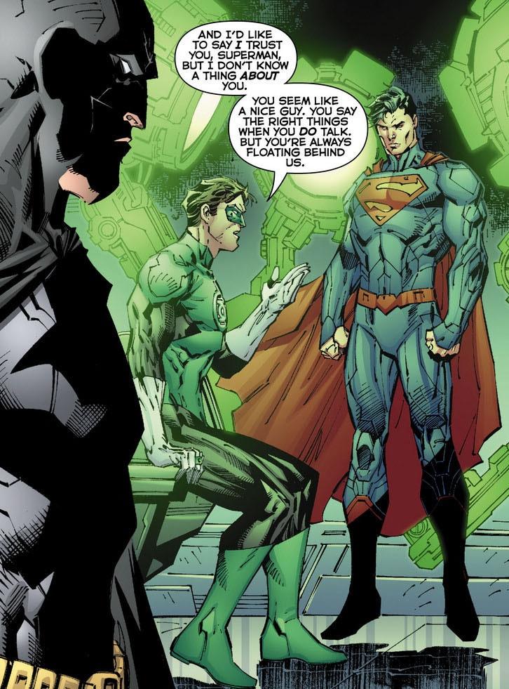 50 reasons Superman is better than Batman