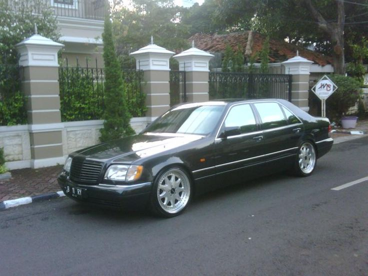 Awesome W140 S500L Wheels Brabus Monoblock III 20x9.5. Check out ...
