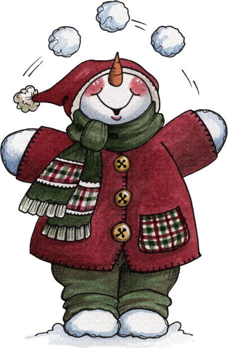 Snowman Juggle Printable