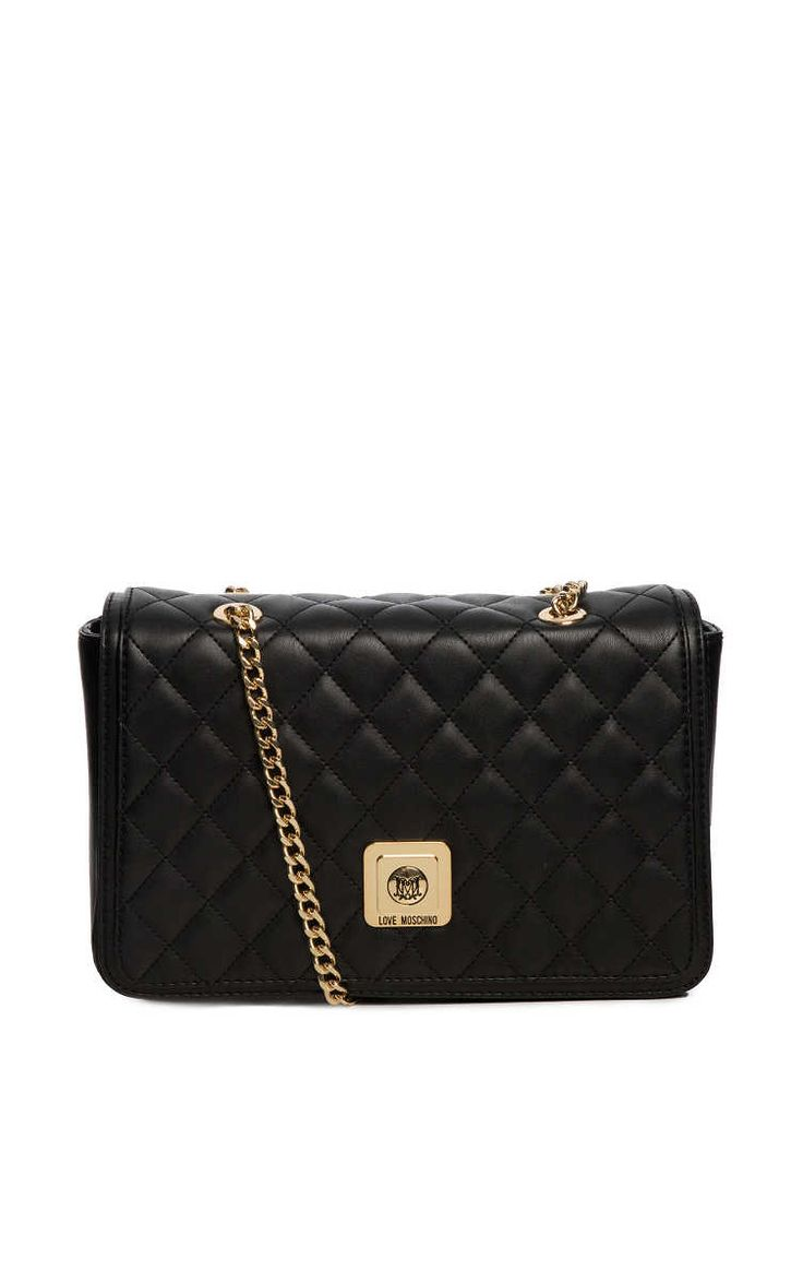 Axelremsväska Quilted Large BLACK - relaxed-days-fw15 - Raglady