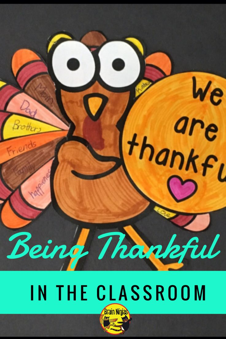 What are you thankful for in your classroom right now? Think about it and find out about Canadian Thanksgiving.