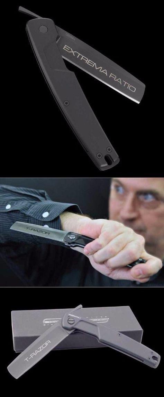 Extrema Ratio T Razor Black Folding Pocket Knife Blade @thistookmymoney