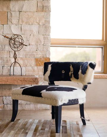 For a Santa Fe style home from House Beautiful magazine.