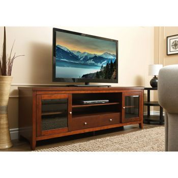 Barclay 72 Media Console Tv Stand Wood