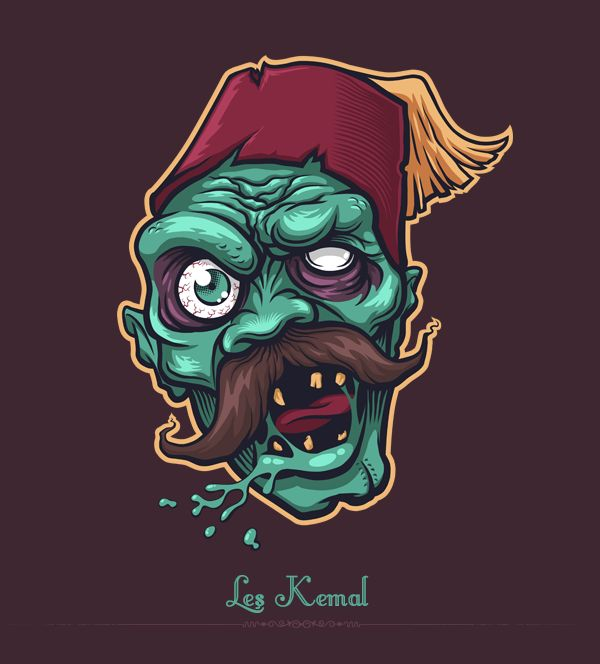 Hortlakbeyi - Ottoman Zombies on Behance