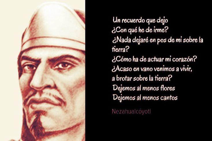 """Nezahualcóyotl fue soberano chichimeca de Texcoco; era el sexto de los hijos de Ixtlilxóchitlo """"flor de pita"""", señor de la ciudad de Texcoco, y de la princesa mexica Matlalcihuatzin, hija del rey azteca Huitzilíhuitl; cuando nació se le nombró Acolmiztli o """"puma fuerte"""", pero las circunstancias que rodearon su adolescencia hicieron que se cambiara el nombre por el de Nezahualcóyotl que significa """"coyote hambriento""""."""