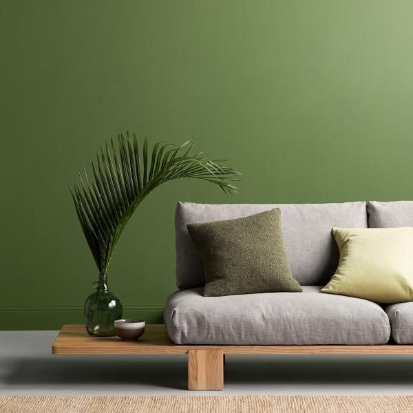 Often referred to as nature's neutrals, green hues are the cornerstone of our Stark Beauty palette, and is our take on having florals and foliage in the home. The crisp, clean and simple colours in the palette are supported by a range of whites with minimal undertones to sit alongside green and retain the sense of freshness, simplicity and vitality within a space.