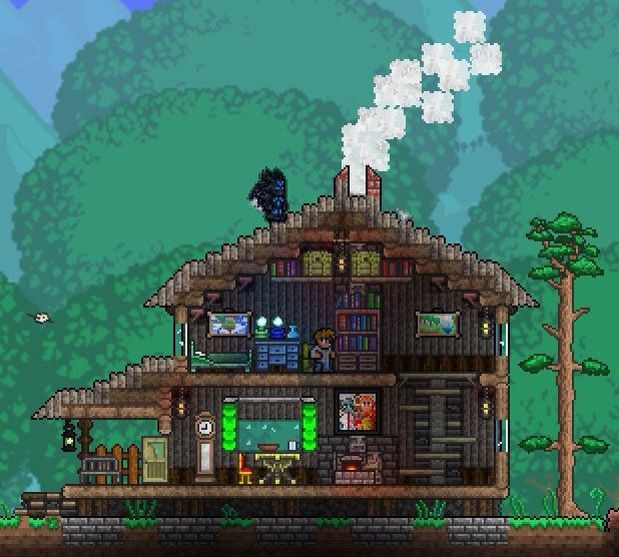 35 best terraria house ideas images on pinterest terraria house house malvernweather Gallery